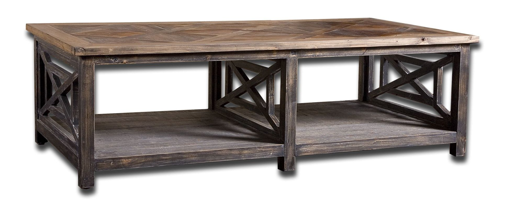 Uttermost 24264 Spiro Cocktail Table Natural Wood Furniture Coffee