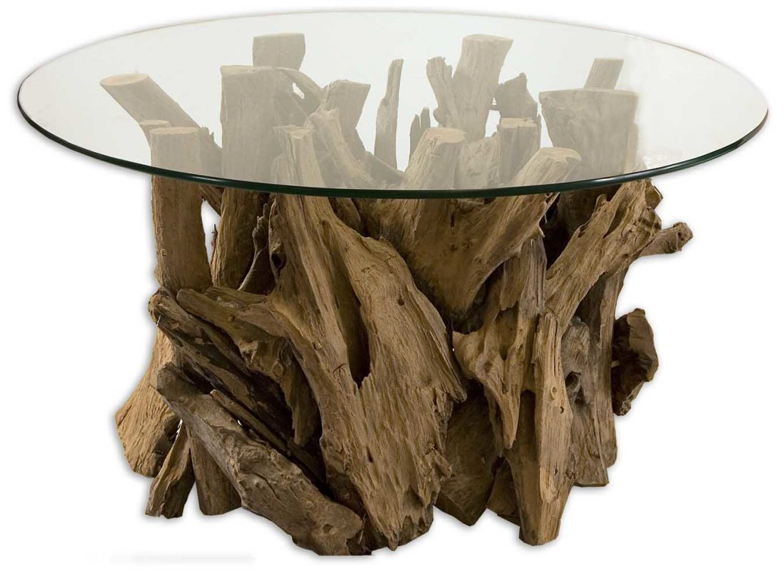 Uttermost 25519 Driftwood Cocktail Table Natural Wood Furniture Coffee