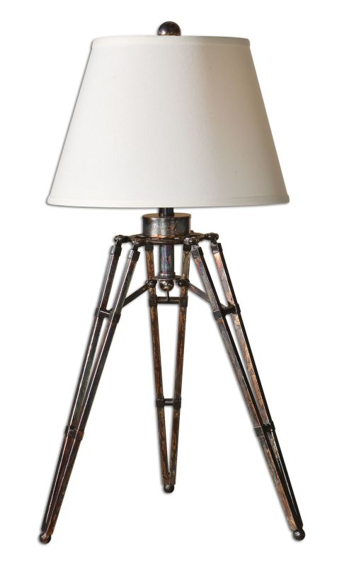 Uttermost 26435 Tustin Lamp Oxidized Bronze Lamps Tripod Lamps