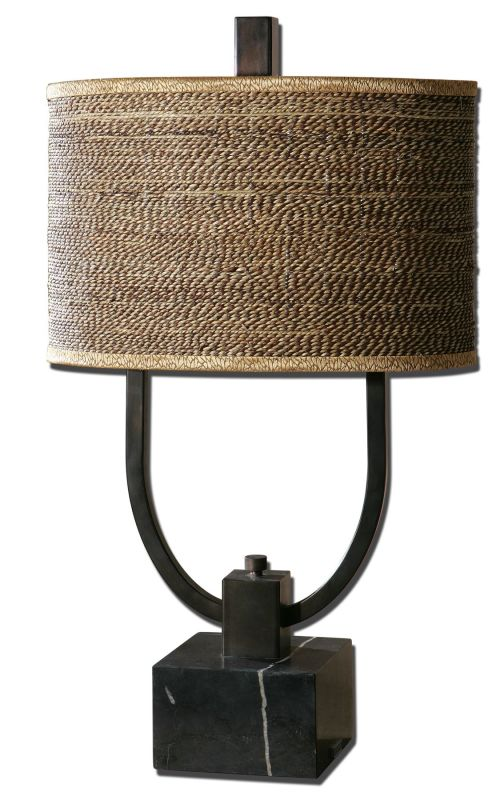Uttermost 26541-1 Stabina Lamp Rustic Bronze Lamps