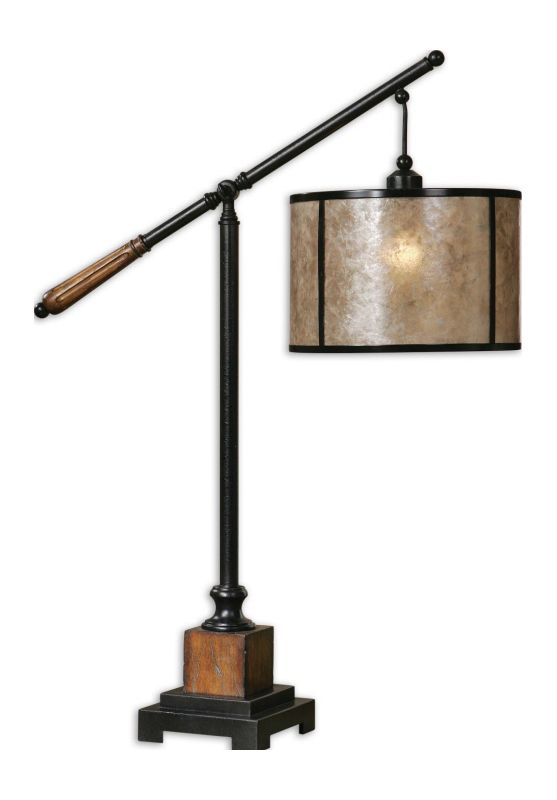 Uttermost 26760-1 Table Lamp from the Sitka Collection Rustic Mahogany