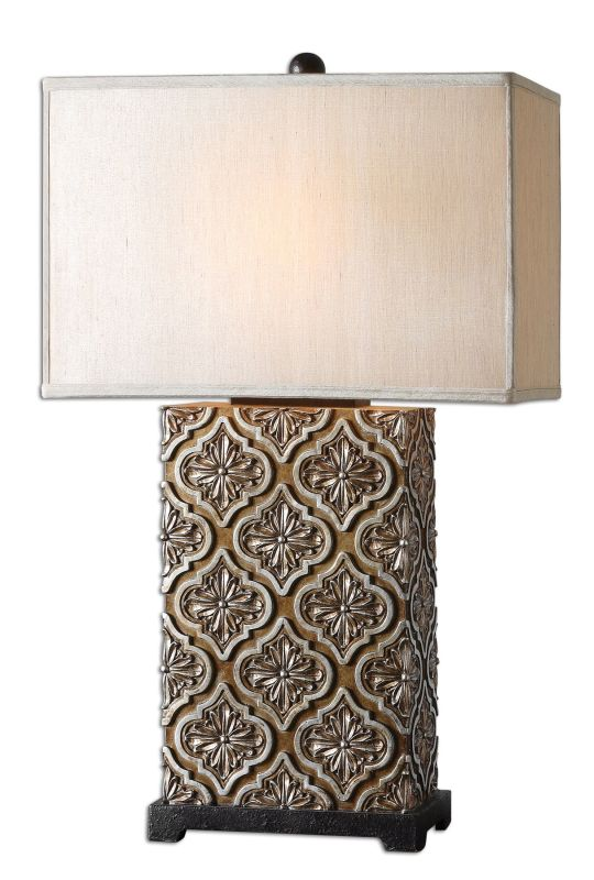 Uttermost 26829-1 Curino Lamp Golden Bronze Lamps