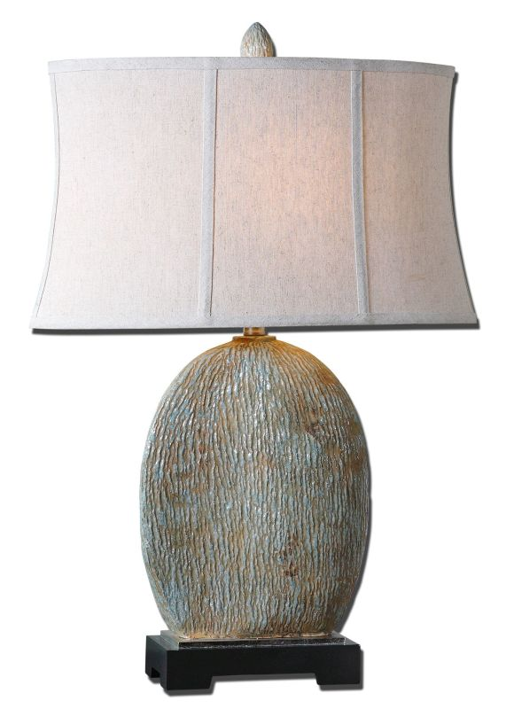 Uttermost 26837-1 Seveso Lamp Light Blue Lamps