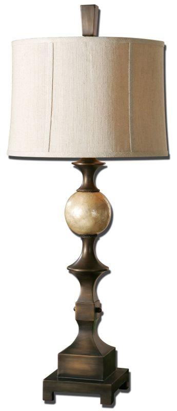 Uttermost 27390 Tusciano Lamp Rubbed Dark Bronze Lamps