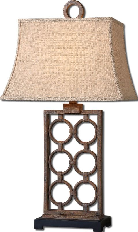 Uttermost 27453 Dardenne Table Lamp Rust Bronze Lamps