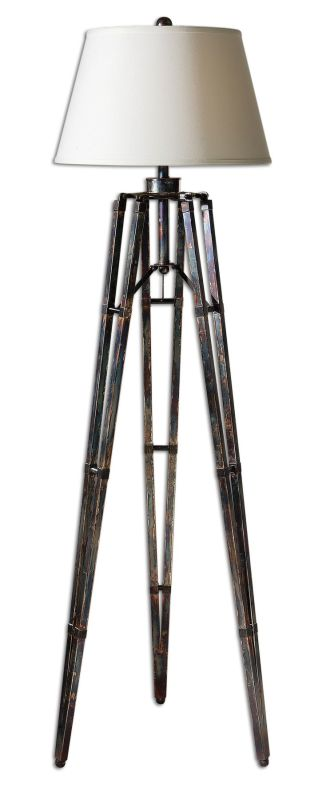 Uttermost 28460 Tustin Lamp Oxidized Bronze Lamps Tripod Lamps