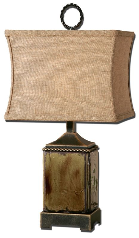Uttermost 29728-1 Porano Lamp Mossy Green Lamps