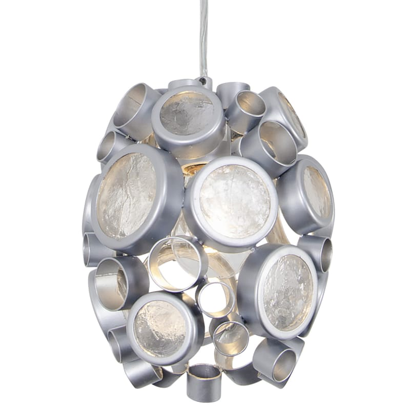 Varaluz 165M01 Fascination 1 Light Hand Forged Recycled Steel Pendant Sale $299.00 ITEM: bci2975206 ID#:165M01MS UPC: 811903024600 :