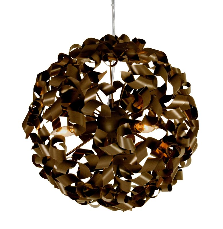 Varaluz 124P03 3 Light Down Pendant from the Pinwheel Collection Sale $309.00 ITEM: bci1806494 ID#:124P03BZ UPC: 815253015950 :