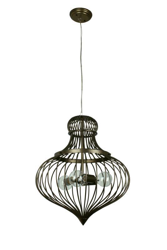 Varaluz 138P03 Clout 3 Light Pendant New Bronze Indoor Lighting