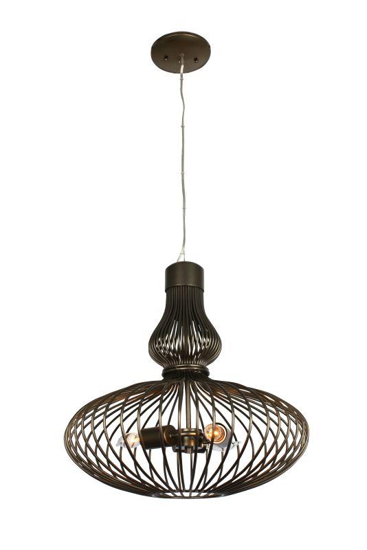 Varaluz 140P03 Clout 3 Light Pendant New Bronze Indoor Lighting
