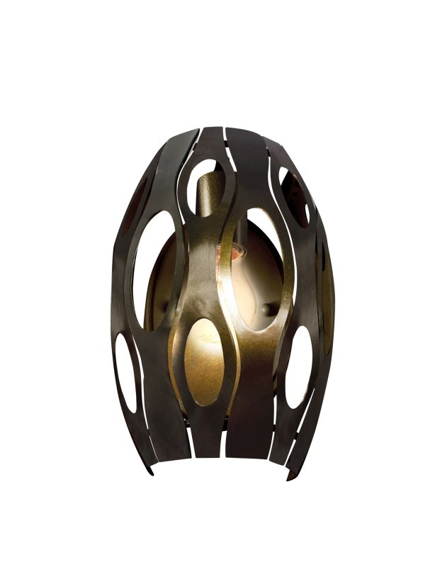 Varaluz 149W01SG 1 Light Wall Sconce with Statue Garden Finish from