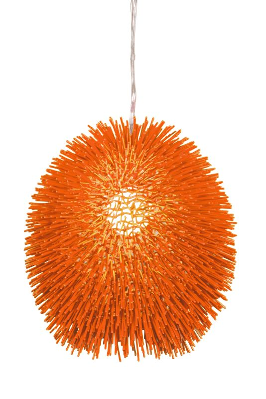 "Varaluz 169P01 Urchin Single Light 13"" Wide Recycled Material Abstract"