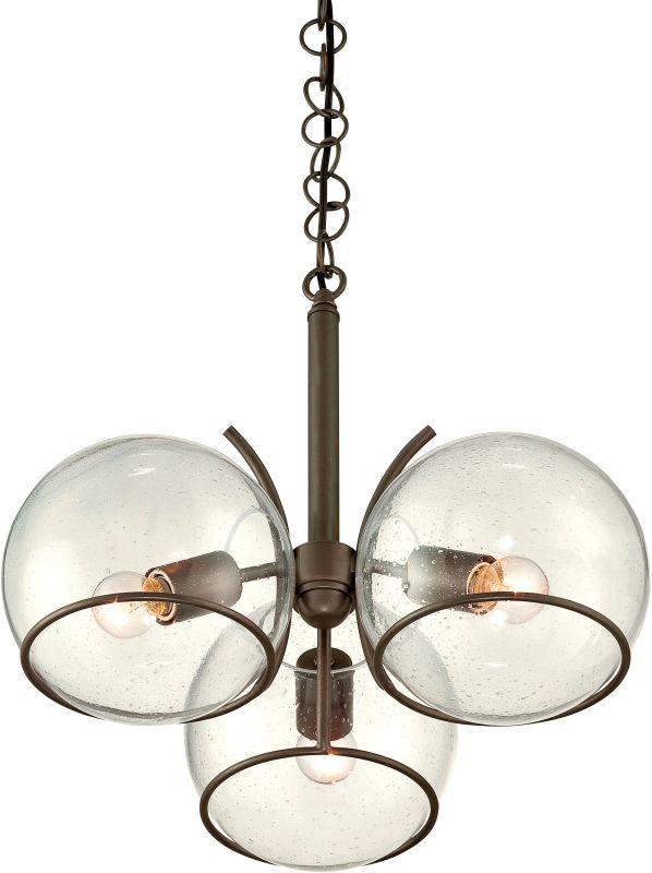 Varaluz 243C03 Watson 3 Light 1 Tier Chandelier Metallic Bronze Indoor
