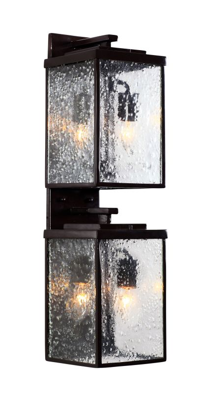 Varaluz 704KL04GB Mission You Outdoor Clear Four Light Large Wall