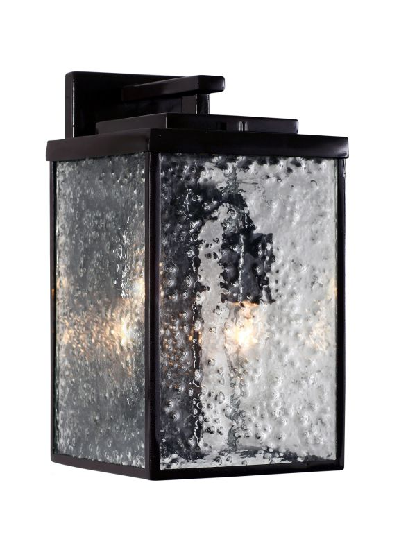 Varaluz 704KM02GB Mission You Outdoor Clear Two Light Medium Wall
