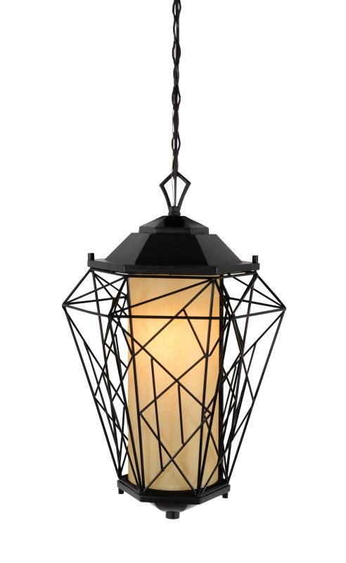 Varaluz 737PM0 Wright Stuff 1 Light Pendant Black Indoor Lighting