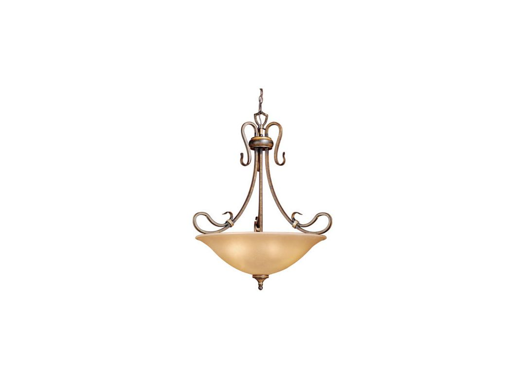 Vaxcel Lighting BE-PDU260 Four Light Down Lighting Bowl Pendant from Sale $115.39 ITEM: bci916915 ID#:BE-PDU260AW :
