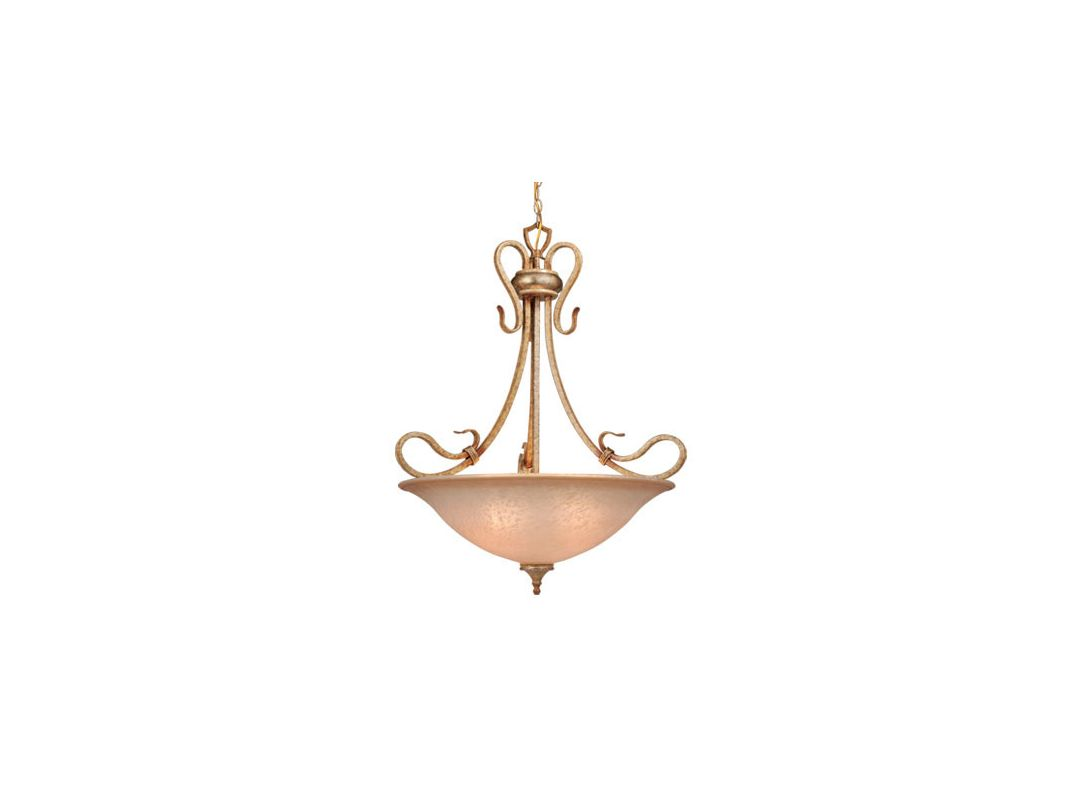 Vaxcel Lighting BE-PDU260 Four Light Down Lighting Bowl Pendant from Sale $114.62 ITEM: bci916916 ID#:BE-PDU260CA UPC: 884656600919 :