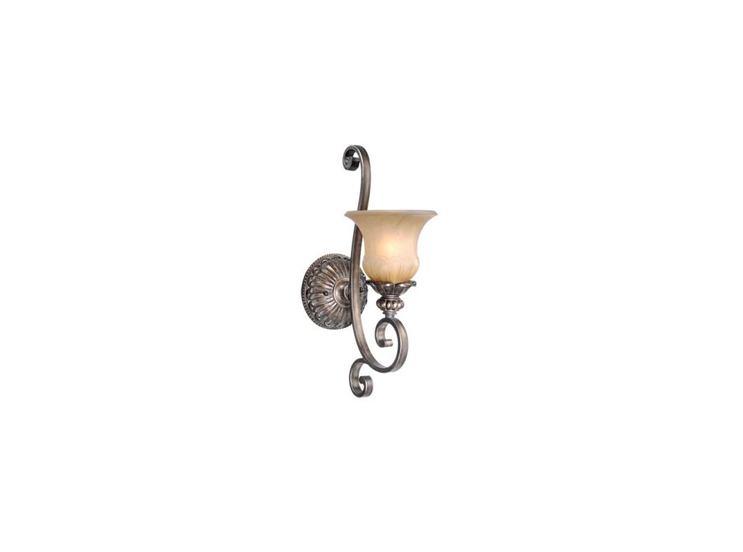 Vaxcel Lighting BG-VLU001 Bellagio 1 Light Bathroom Sconce - 13.25