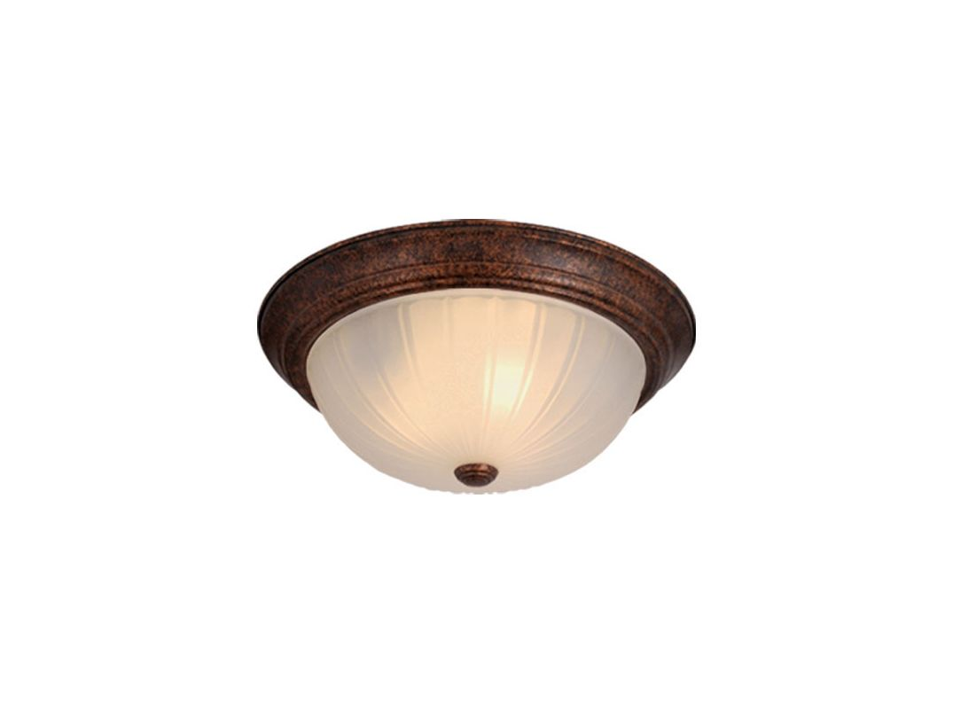 Vaxcel Lighting CC1751 2 Light Flush Mount Indoor Ceiling Fixture with