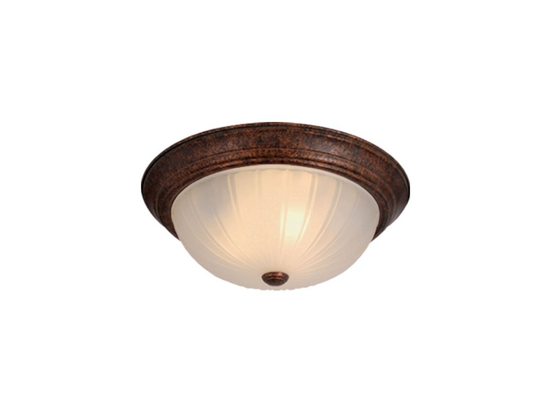 Vaxcel Lighting CC1753 2 Light Flush Mount Indoor Ceiling Fixture with