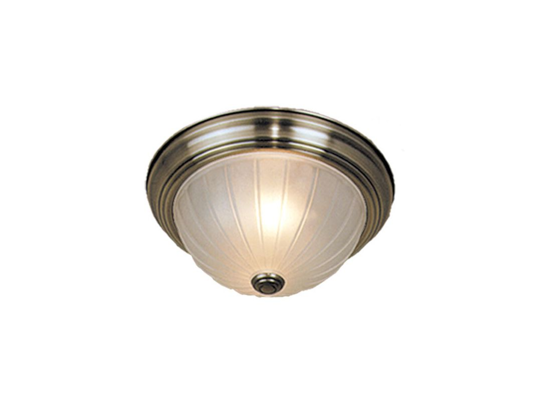 Vaxcel Lighting CC1755 3 Light Flush Mount Indoor Ceiling Fixture with