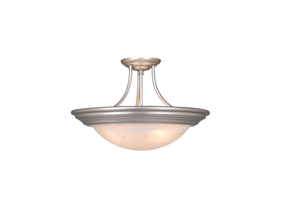 Vaxcel Lighting CC32714 Tertial 2 Light Semi-Flush Indoor Ceiling Sale $58.50 ITEM: bci917061 ID#:CC32714BN UPC: 884656602418 :