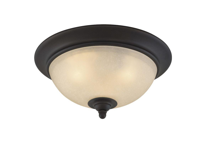 Vaxcel Lighting CC35913 Avalon 2 Light Flush Mount Indoor Ceiling