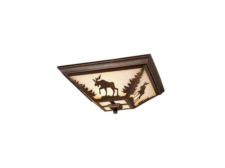Vaxcel Lighting CC55614 Yellowstone 3 Light Flush Mount Indoor Ceiling