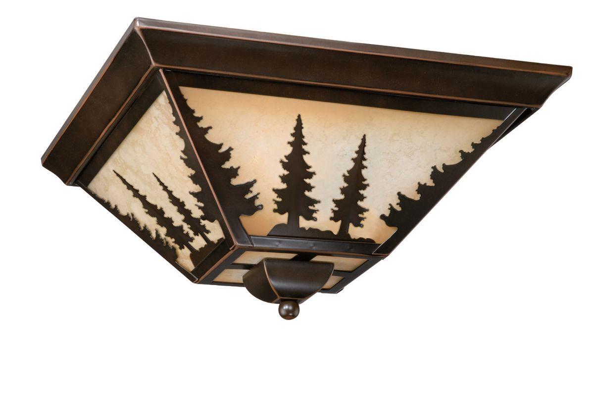 Vaxcel Lighting CC55514 Yosemite 3 Light Flush Mount Indoor Ceiling