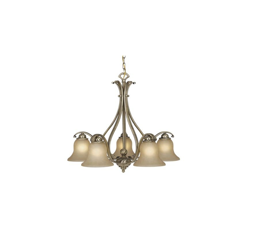 Vaxcel Lighting CH35455 Monrovia 5 Light Single Tier Chandelier with