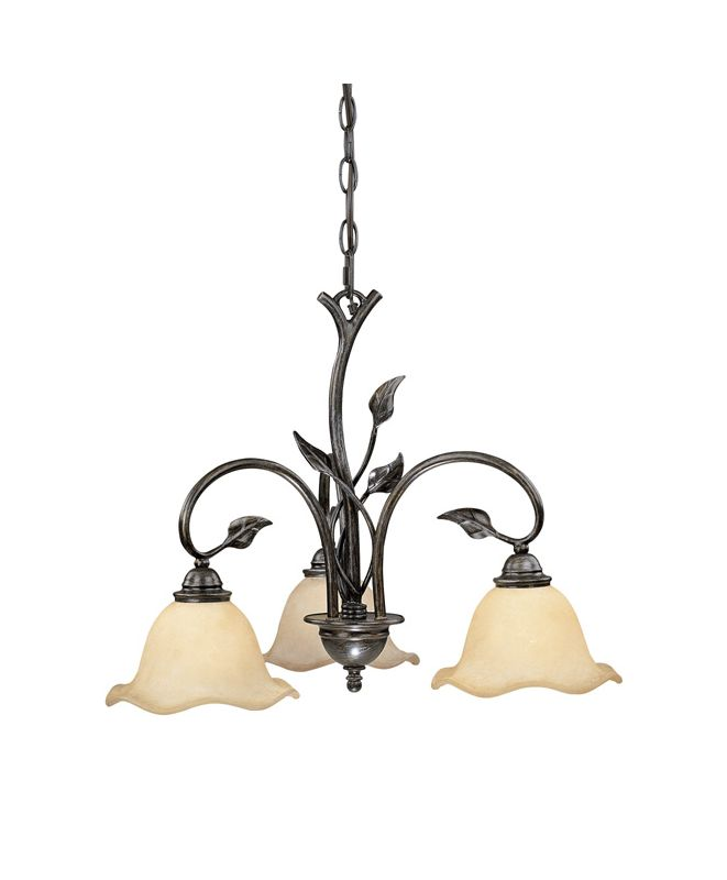 Vaxcel Lighting CH38803 Vine 3 Light Single Tier Chandelier with