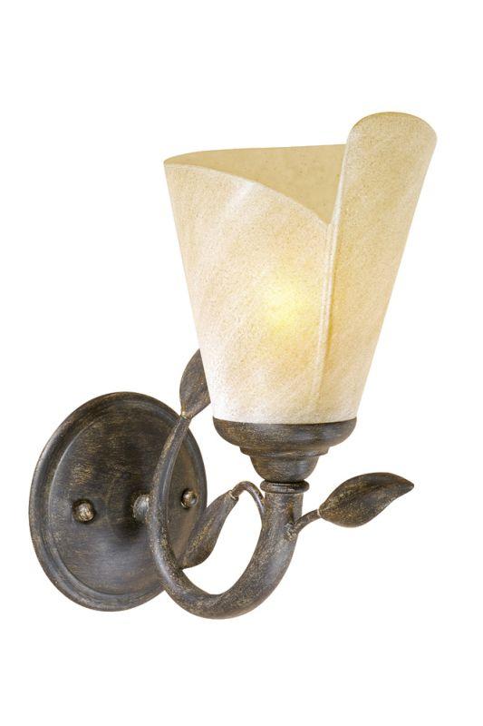 Vaxcel Lighting CP-VLU001 Capri 1 Light Bathroom Sconce - 10.5 Inches Sale $78.00 ITEM: bci917322 ID#:CP-VLU001BW UPC: 884656605204 :