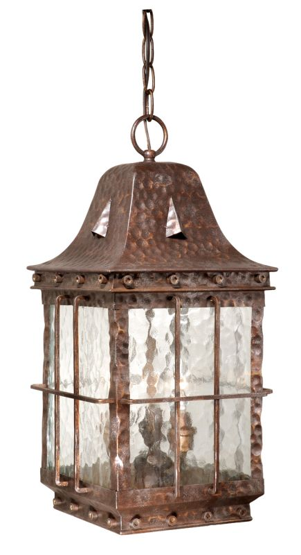 Vaxcel Lighting Ed Odd090ci Colonial Iron Edinburgh 3