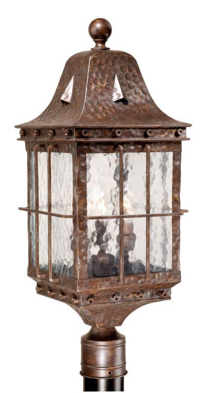 Vaxcel Lighting ED-OPU090 Edinburgh 3 Light Outdoor Post Light Sale $250.00 ITEM: bci917353 ID#:ED-OPU090CI UPC: 884656640298 :