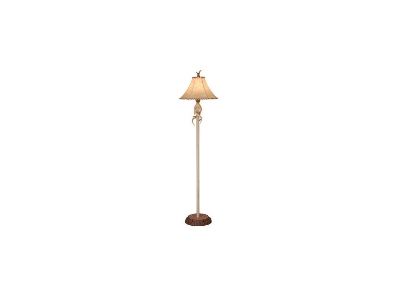 Vaxcel Lighting FL33075 Lodge 1 Light Floor Lamp Noachian Stone Lamps Sale $274.00 ITEM: bci917396 ID#:FL33075NS UPC: 884656605822 :