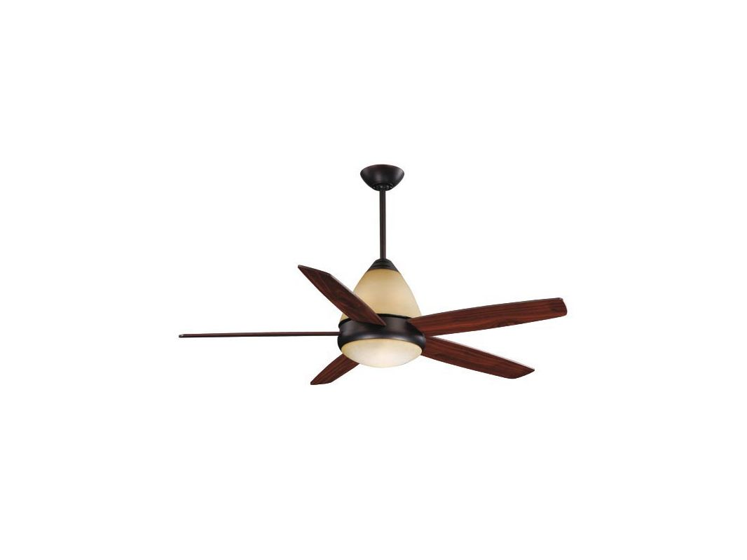 "Vaxcel Lighting FN52238 Fresco 52"" 5 Blade Indoor Ceiling Fan - Remote"
