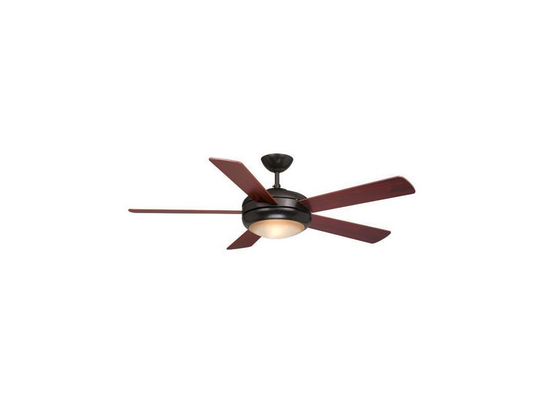 "Vaxcel Lighting FN52243 Rialta 52"" 5 Blade Indoor Ceiling Fan - Light"