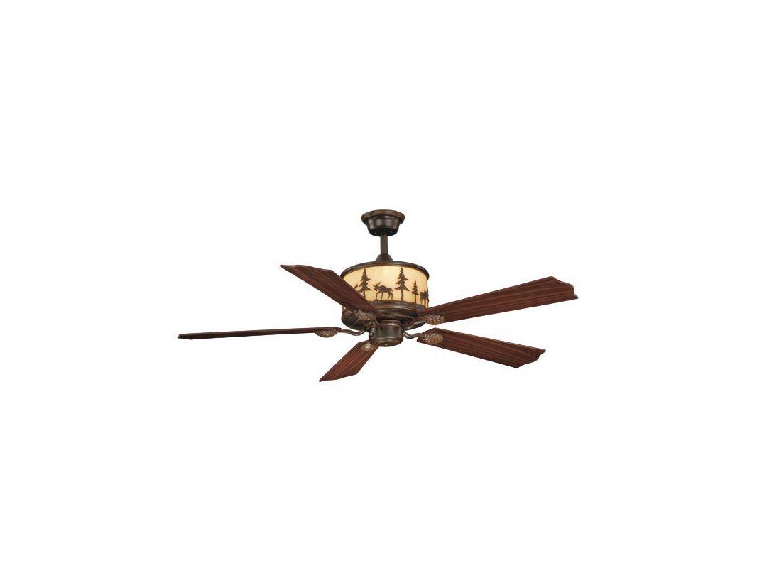 "Vaxcel Lighting FN56305 Yellowstone 56"" 5 Blade Indoor Ceiling Fan -"