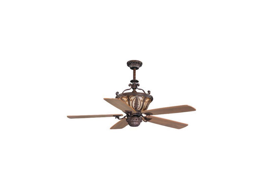"Vaxcel Lighting FN56312 Dynasty 56"" 5 Blade Indoor Ceiling Fan - Light"