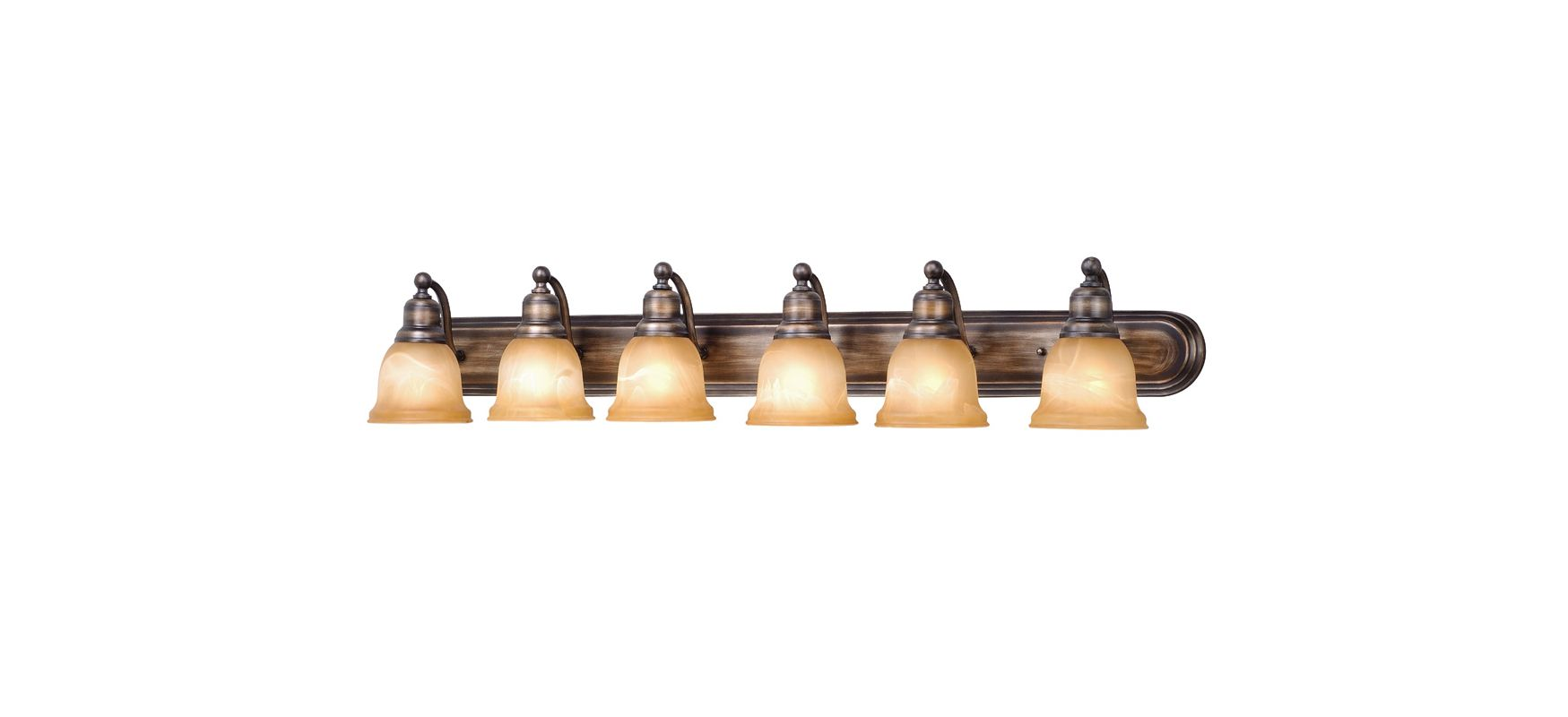 Vaxcel Lighting LS-VLD106 Lasalle 6 Light Bathroom Vanity Light