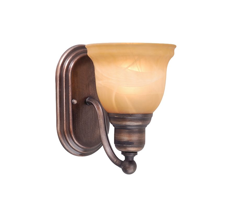 Vaxcel Lighting LS-VLU101 Lasalle 1 Light Bathroom Sconce - 13 Inches
