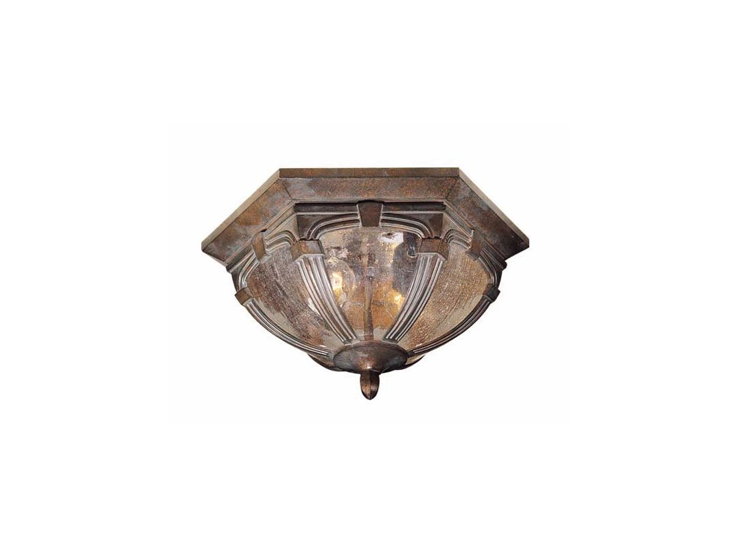 Vaxcel Lighting OF38713 Essex 2 Light Flush Mount Outdoor Ceiling