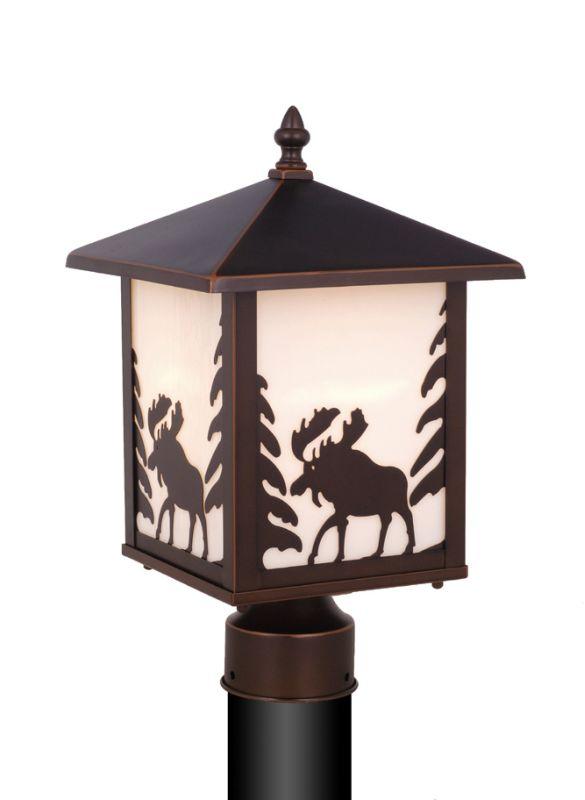 Vaxcel Lighting OP36985 Yellowstone 1 Light Outdoor Post Light