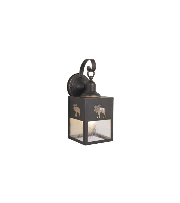 Vaxcel Lighting OW24963 Yellowstone Outdoor 1 Light Outdoor Wall