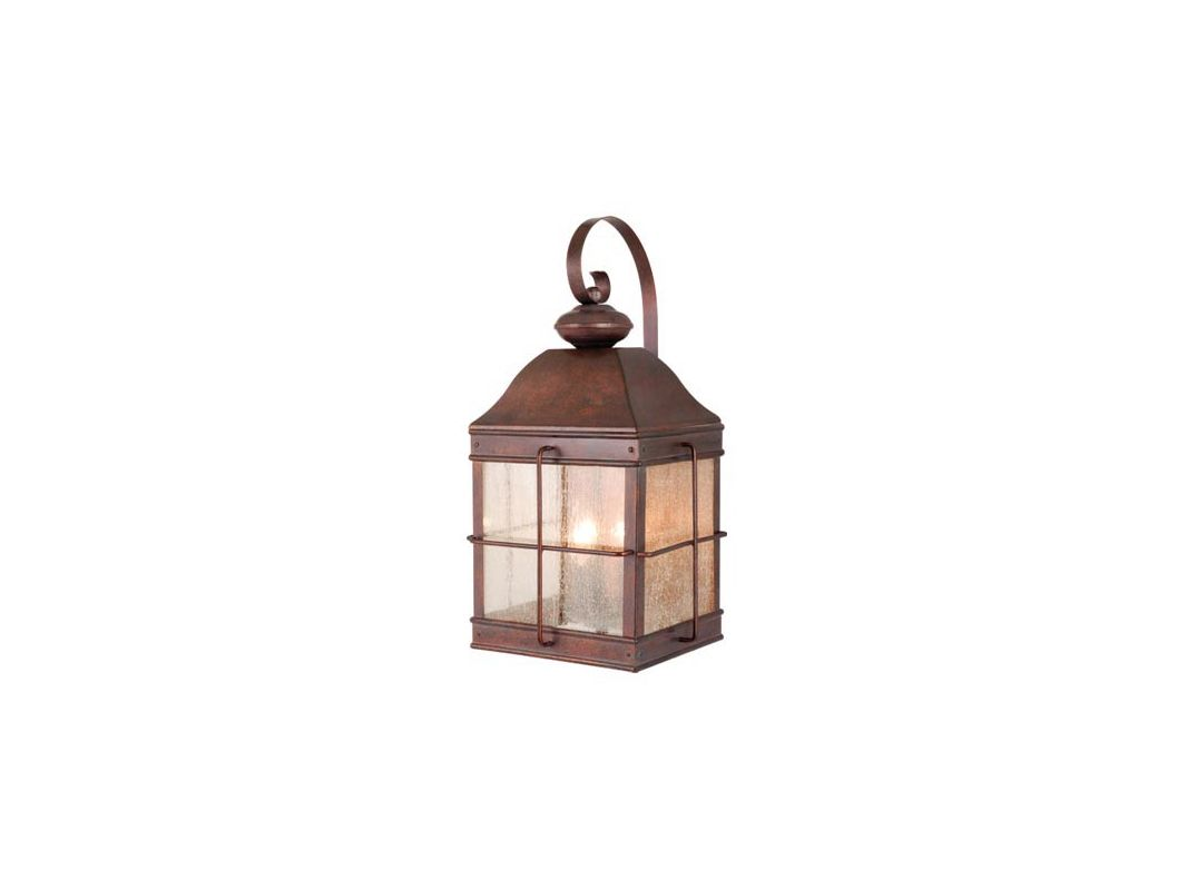 Vaxcel Lighting OW39593 Revere 3 Light Outdoor Wall Sconce - 10 Inches Sale $122.00 ITEM: bci917953 ID#:OW39593RBZ UPC: 884656642315 :