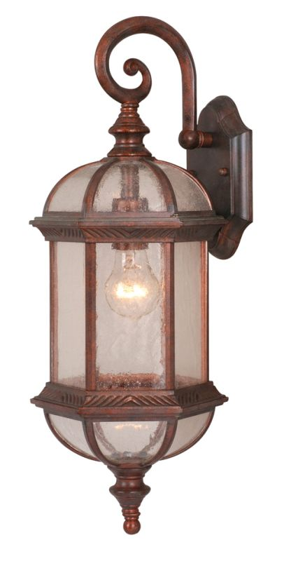Vaxcel Lighting OW39782 Chateau 1 Light Outdoor Wall Sconce - 8.25 Sale $79.00 ITEM: bci917957 ID#:OW39782RBZ UPC: 884656642353 :