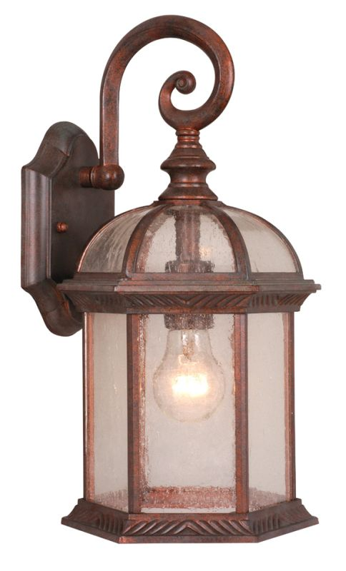 Vaxcel Lighting OW39783 Chateau 1 Light Outdoor Wall Sconce - 8.25 Sale $68.00 ITEM: bci917959 ID#:OW39783RBZ UPC: 884656642377 :