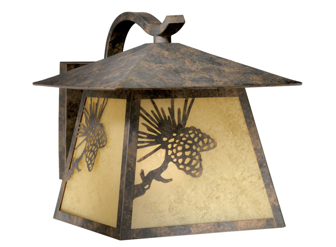 Vaxcel Lighting OW50513 Whitebark 1 Light Outdoor Wall Sconce - 11